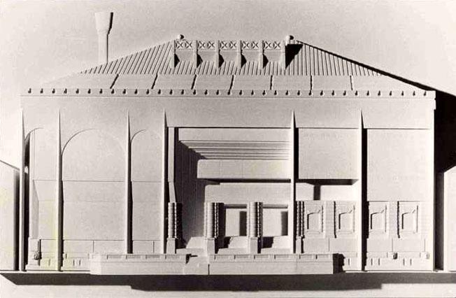 Progetto per il museo guggenheim a venezia 1985 for Orari museo guggenheim venezia